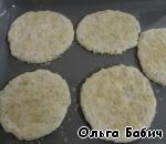Сырные лепешки с курочкой Кефир
