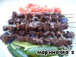 Шашлык из печени с курдюком  «Ну очень вкусный» ингредиенты