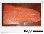 Маринованная красная рыба-вариант 2 ингредиенты