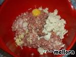 Мясная запеканка с сыром и яйцом ингредиенты
