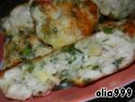 Рубленые куриные котлеты с сыром и зеленью ингредиенты