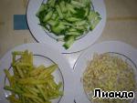 Салат с ростками маша ингредиенты