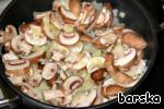 Гороховый гратин с грибами и ветчиной ингредиенты