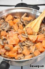 Жульен с семгой и грибами ингредиенты