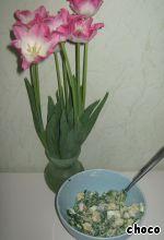 Салат из черемши с сухариками ингредиенты