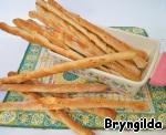 Хлеб для пикника. Калачи с кунжутом, сырные палочки и каравай из ржаной муки на соевом соусе и сыворотке