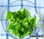 Салат с креветками, виноградом и кедровыми орешками ингредиенты