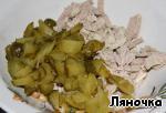 Салат с мясом и грибами ингредиенты