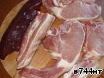 Мясное ассорти ингредиенты