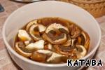 Суп из белых грибов с копченостями ингредиенты