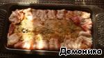 Террин из двух видов курицы Перец болгарский