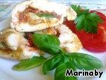 Куриное филе  с томатами и базиликом Растительно масло