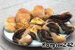 Скороспелые булочки Сухие дрожжи