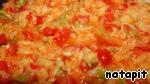 Ленивые пельмени в овощном соусе Фарш     свинина и говядина