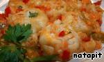 Ленивые пельмени в овощном соусе Помидоры