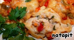Ленивые пельмени в овощном соусе Масло    растительное
