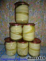 Заготовка из кабачков на зиму ингредиенты
