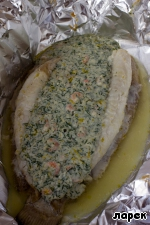 Камбала, фаршированная креветками ингредиенты