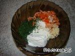 Диетическая закуска с творогом ингредиенты