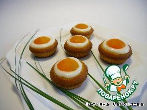 Кексики с абрикосами (Невероятно вкусная и красивая идея для Пасхи!!!)