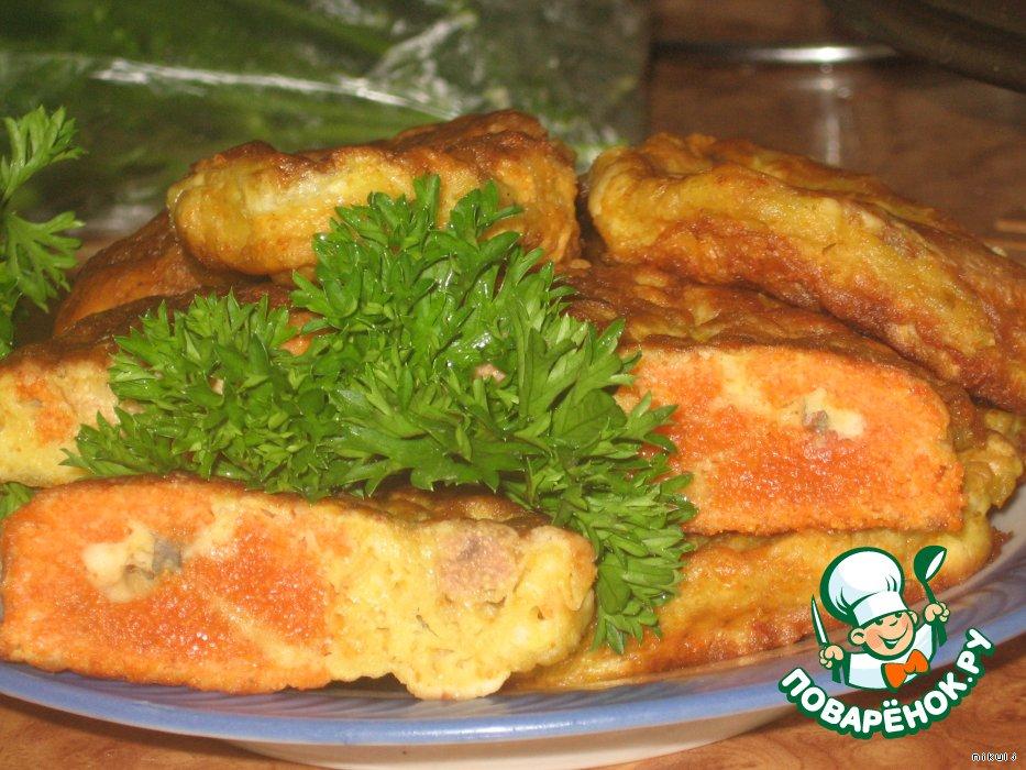 Оладьи из рыбной икры рецепт с фото
