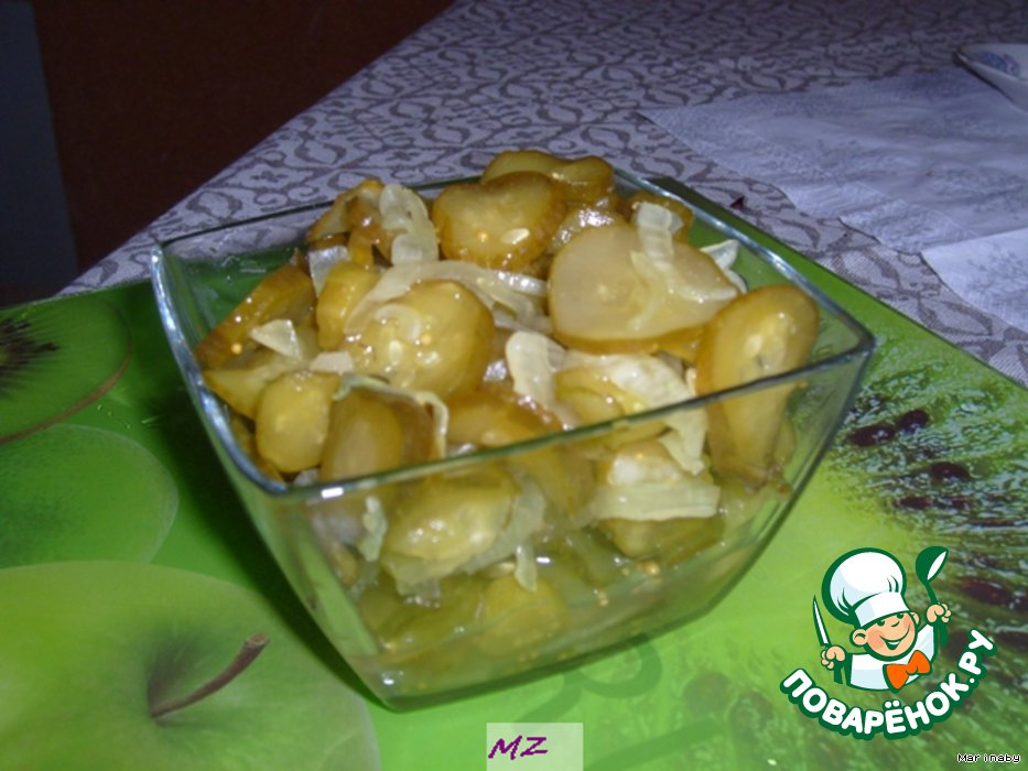 рецепты поваренок ру салаты на зиму рецепты