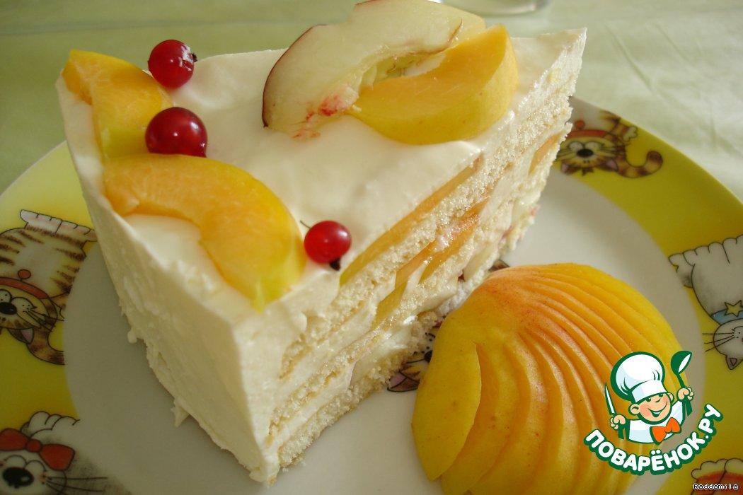 Торты суфле с фруктами рецепт