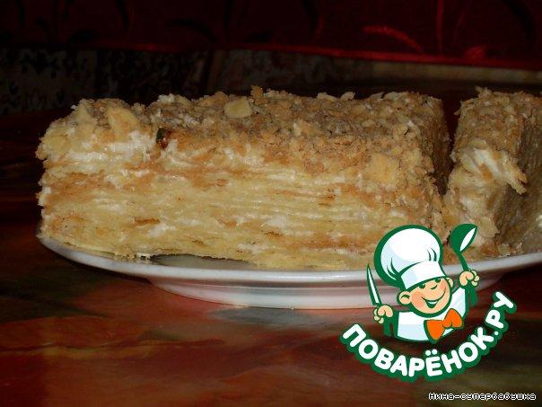 торт наполеон рецепт на поваренке