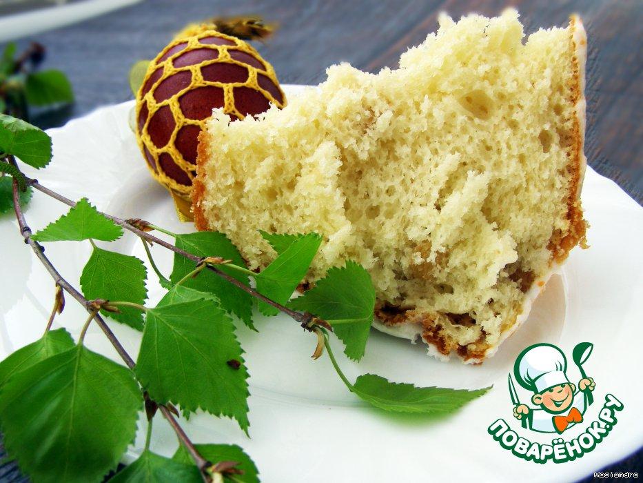Рецепт пирога с простоквашей и сметаной
