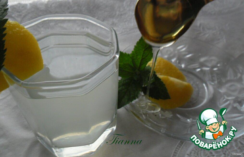 Лимонад с мятой и лимоном рецепт