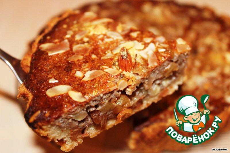 Пирог с орехами рецепт