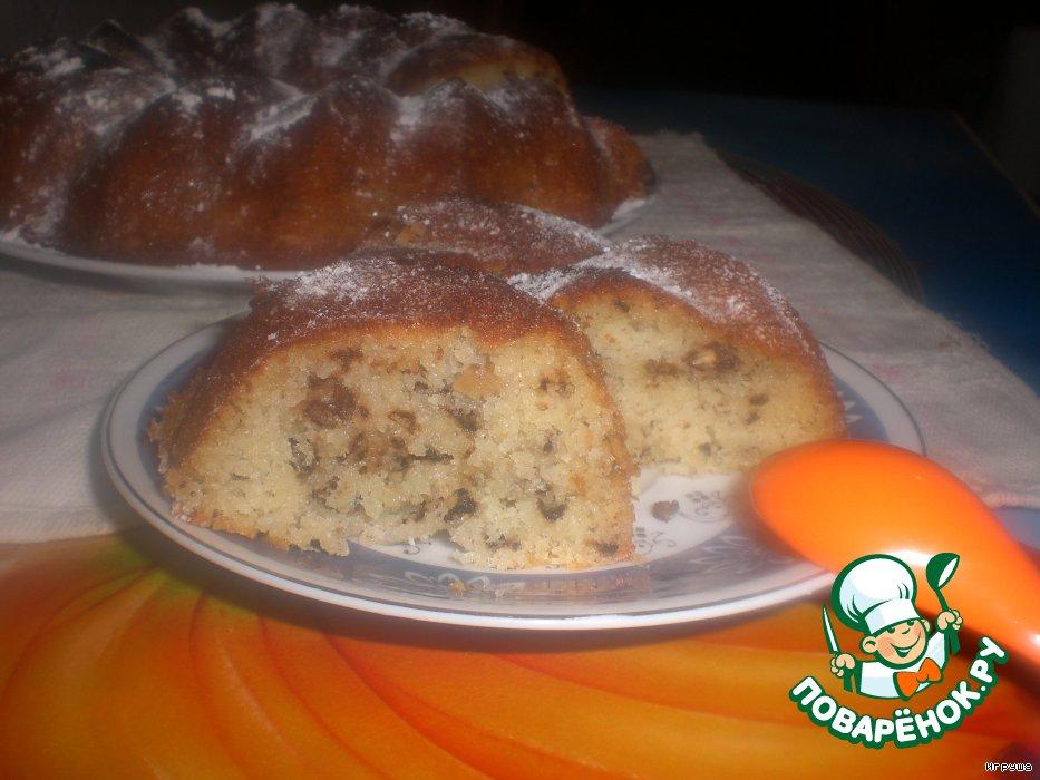 Кекс с кефиром простой рецепт с пошагово