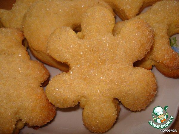 Тесто на песочное печенье рецепт
