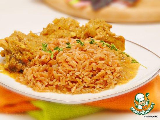 рецепт вкусного риса на гарнир к рыбе