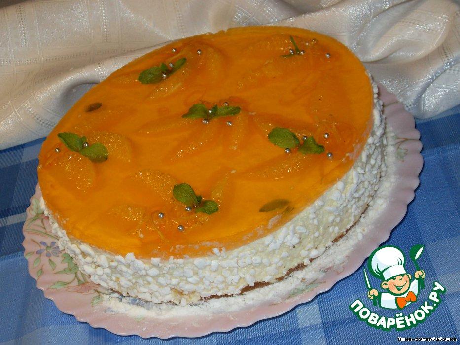 331Творожный торт нежный рецепт