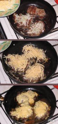 "Готовим домашний рецепт с фото Мясо ""Дипломат"" #1"