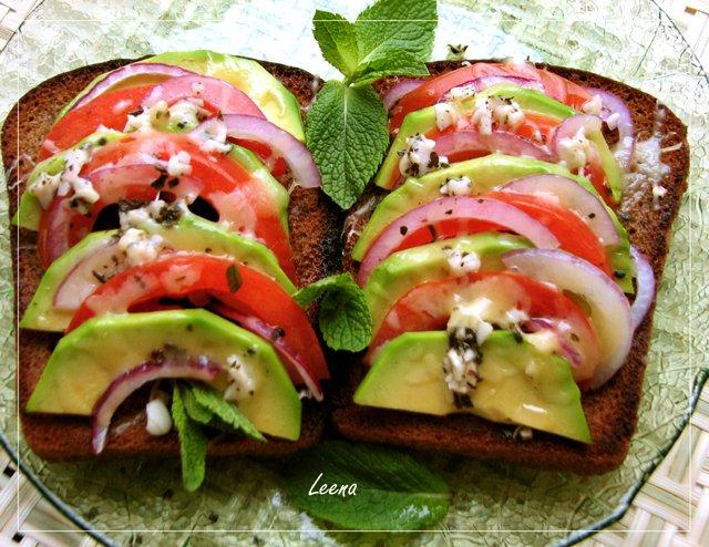 бутерброды с авокадо рецепты