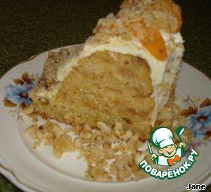 Песочный торт с персиками пошаговый рецепт приготовления с фото готовим #26