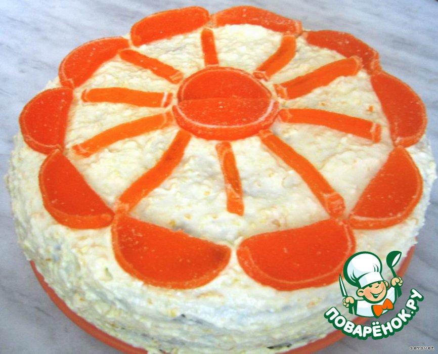 Торт круг как украсить