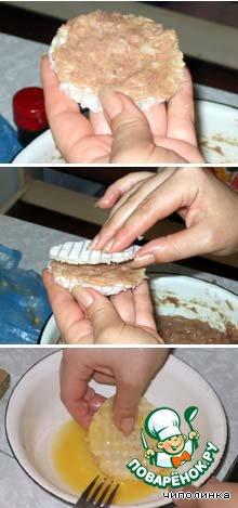 Готовим Вафельные бризольки домашний пошаговый рецепт приготовления с фото #1