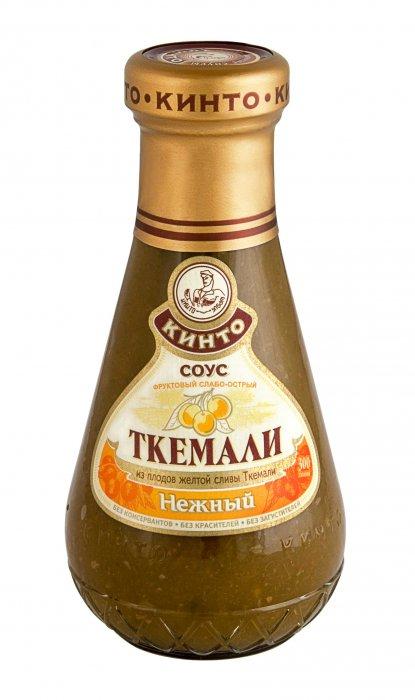 """Соус фруктовый ТКЕМАЛИ """"Нежный"""", ТМ """"Кинто"""" - Sauces - Foodstuffs - English version - Компания Дилявер экспорт импорт продуктов"""