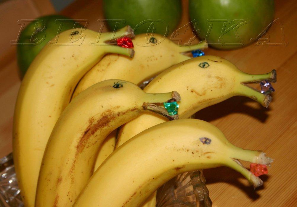Что можно сделать из банана своими руками 36