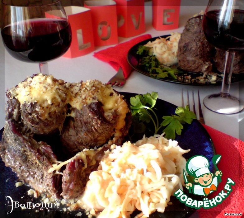 Праздничный ужин из мяса рецепты