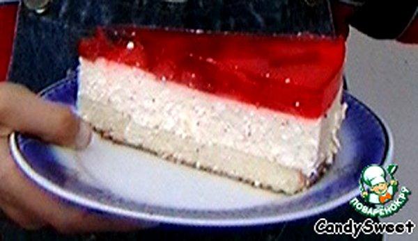 Творожный крем для торта с желатином