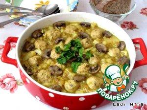 суп с рыбными фрикадельками из красной рецепт