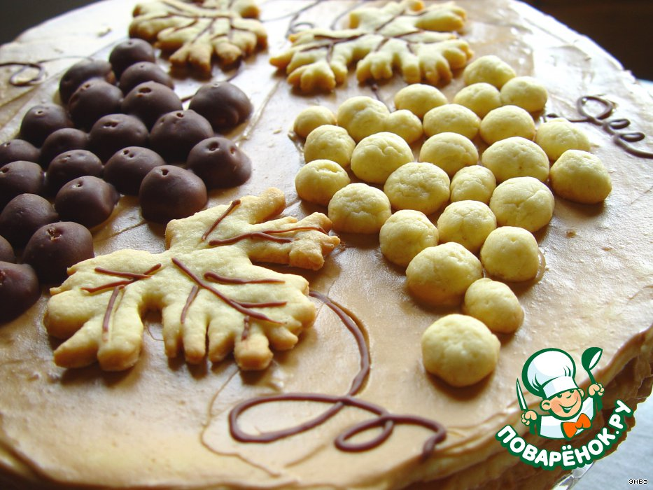 Рецепт простого песочного торта с фото