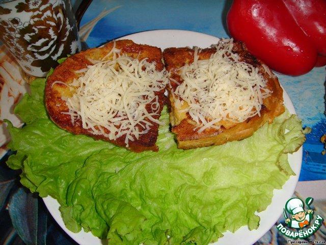 Горячие бутерброды с ананасами в духовке рецепты