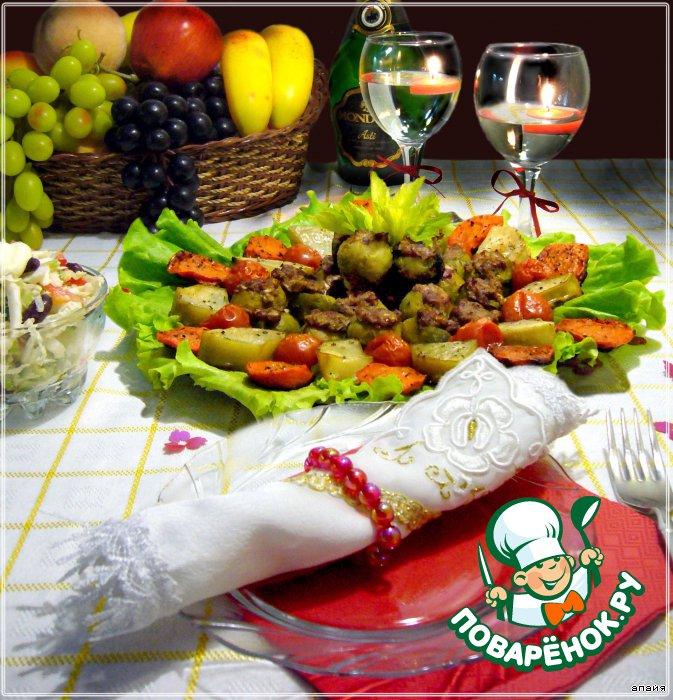 Блюда из патиссон рецепты с фото простые и вкусные
