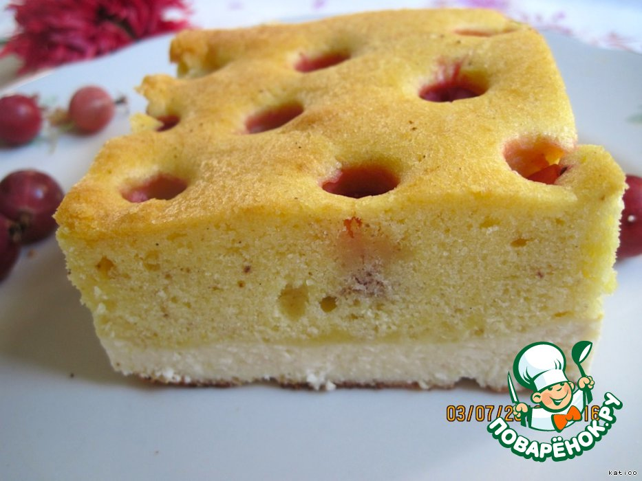 рецепт бисквита в духовке с фото