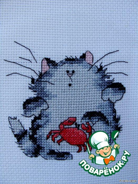 Снова забавный кот от Маргарет